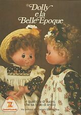 X9954 Dolly e la Belle Epoque - Zanini & Zambelli - Pubblicità 1976 - Advertis.