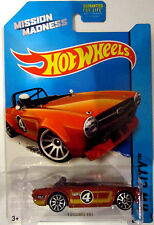 Tokaland Hot Wheels Krogers 2014 Mission Madness Orange Triumph TR6