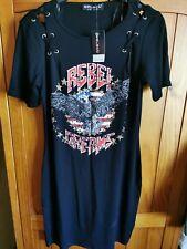 Ladies BNWT Rock N Roll Eagle Long Top Size 12 USA