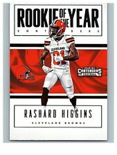 2016 CONTENDERS ROOKIE OF THE YEAR #29  RASHARD HIGGINS  BROWNS  50 CENT SHIP