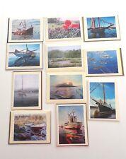 Original Maine Artwork Nautical Boats Notecards Maria C Boord Boothbay Harbor