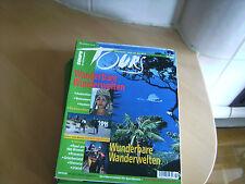 tours 3/2003 Wunderbare Wanderwelten  u. a. Themen s. Bild