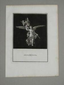 Vittoria Trofeo Campana Vanni - Kupferstich Herculaneum Viktoria Trophäe - 1765