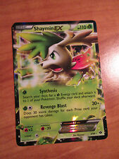NM SHAYMIN EX Pokemon card NEXT DESTINIES Set 5/99 Black and White BW Ultra Rare