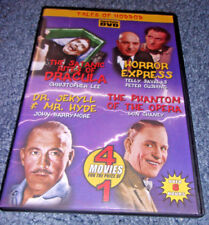 Tales of Horror DVD 4 Movies The Satanic Rites of Dracula, Horror Express +