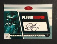 Donovan McNabb Signed 2003 Fleer NFL Hot Prospects Auto Autograph Card #P-DM /50