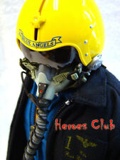 "Hot US Navy Blue Angels Pilot 12"" figure 1/6 Dragon DML Toys"