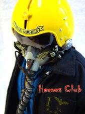 "Hot US Navy Blue Angels Pilot 12"" figure 1/6 Dragon DML Toys"