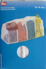 Sacco lavanderia con 4 borsette