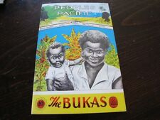 Rare 1966 KIDs Book THE BUKAS Pacific Peoples PAPUA NEW GUINEA Indigenous