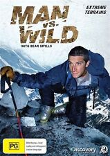 Man Vs Wild -  Extreme Terrains : Season 1 : Collection 1 (DVD, 2010, 2-Disc...