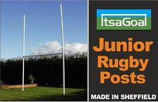 Junior Rugby Posts - Lightweight TOP QUALITY uPVC