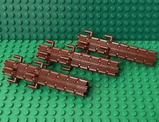 Lego X3 MOC Reddish Brown City Logging Trunk Tree Logs With Flutes Grill Style