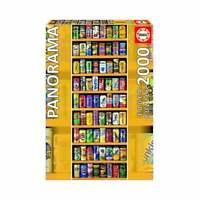 Educa Borras - Soft Cans Panorama 2000 piece Jigsaw Puzzle UG11053