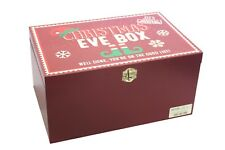 Wooden Christmas Eve Gift Box Family Tradition Xmas