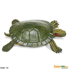 Red-Eared Slider Turtle Incredible Creatures Figure Safari Ltd NEW Toys