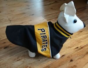 Pittsburgh Pirates Nylon Dog Jacket XXS Size Size Bark Avenue Originals