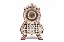 Wood Trick Vintage Clock DIY Wooden Puzzle Toy Gift