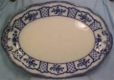 Melbourne Flow Blue Platter W Grindley Antique Outstanding Huge Holidays Beauty