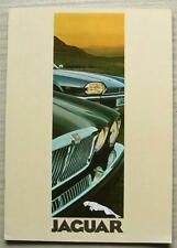 JAGUAR XJ RANGE SERIES III Car Sales Brochure c1980 #3501 XJ6  XJ12  XJS