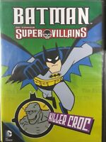 Batman super villians killer croc DVD
