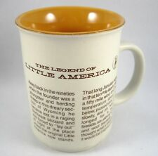 Coffee Mug Cup History Legend of Little America Penguin Symbol by Monterey Japan