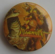 MAGNUM VINTAGE METAL BUTTON BADGE FROM THE 1980's ROCKIN' CHAIR ANTHOLOGY