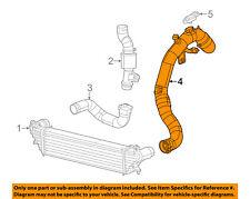 FIAT OEM 14-16 500L 1.4L Turbo Turbocharger Intercooler-Outlet Tube 68224966AA