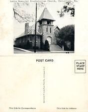 CHRISTIANA PA LATTA MEMORIAL PRESBYTERIAN CHURCH VINTAGE POSTCARD
