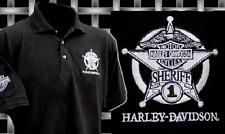 HARLEY DAVIDSON  MEN'S SHERIFF POLO SHIRT (XXXL) HARLEY