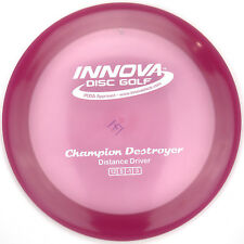 New Magenta Red Champion Destroyer Driver 171g Innova Disc Golf White Stamp