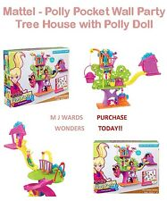Mattel - Polly Pocket Wall Party - Tree House with Polly Doll - BOXED