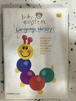 Baby Einstein DVD Languaje Nursey Spagnolo Inglese Portuguese