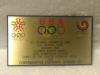 USA Olympic Committee Commemorative Corporate Sponsor 88 Collectible Pin pin3591