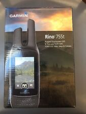 "Garmin Rino 755t Handheld Radio and GPS 5 W FRS/GMRS 3"" Touchscreen"