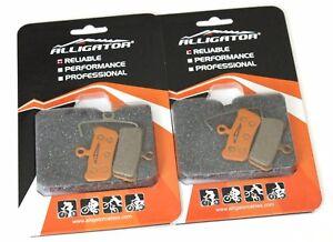 Alligator Bike MTB Disc Brake Pads for AVID XO X.O X.0 9 7 Trail, SRAM, 2pcs