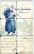 1906 Nichols NY New York Finished Exams Passed Physics Vintage Postcard D03