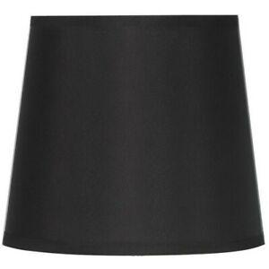 MAINSTAYS BLACK PATTERN ROUND ACCENT DRUM LAMP SHADE