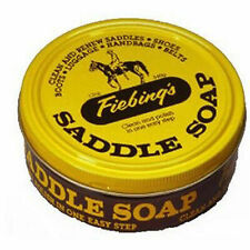 Fiebings 12oz Saddle Soap Cleaner Preservative Satin Leather Boots Tack