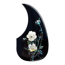 Acoustic Guitar Pickguard Thicker Scratch Plate Teardrop Black & Flower Patterns