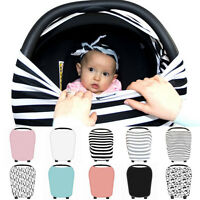 Multi-Use Stretchy Newborn* Infant Nursing COVER Baby CAR Seat Canopy CART Cover