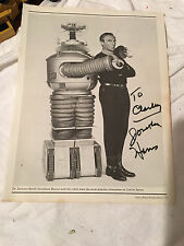 JONATHAN HARRIS AS DR. SMITH SIGNED IN PERSON AUTOGRAPH LOST IN SPACE