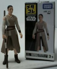 Takara Tomy Star Wars Mini #14 Rey Metal Figure MetaColle Collection