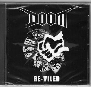 Doom - Re-Viled CD (Fuck Peaceville, crust, punk, d-beat)