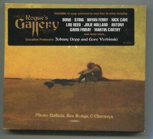 2CD Rogue´s Gallery  - Pirate Ballads, Sea Songs & Chanteys  Bono Sting Reed...