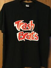 Trash Brats.  Black Shirt.  XL.