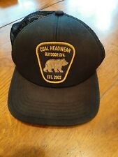 Coal Headwear Outdoor Div. Est 2002 - Baseball Truckers  Hat Cap Bear