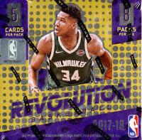 2017-18 Panini Revolution Basketball NBA Sealed Hobby Box