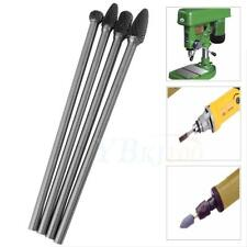 4Pcs Rotary Burr 1/4'' Shank 6'' inch Long Reach Double Cut Carbide Tool Kit Hot