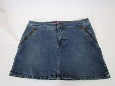C'est la vie by Tony P. Jean mini-skirt CUTE denim skirt size 9